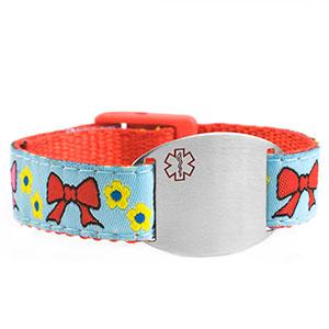 Bows Medical Sport Band Bracelet 4 - 8 Inch