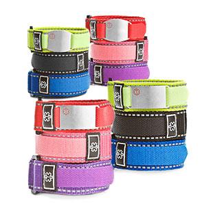 Variety Sport Strap Medical Bracelets & ID Tags Pack