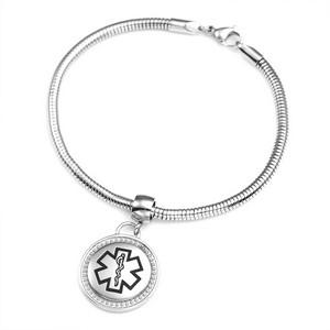 Tanisha Round Medical Alert Bracelet