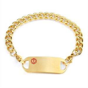 Bryden Curb Link Medical ID Bracelet 7.5 In