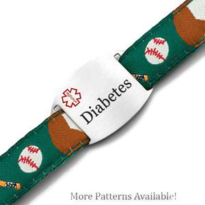 Sport Strap Variety Patterns Diabetic Bracelets