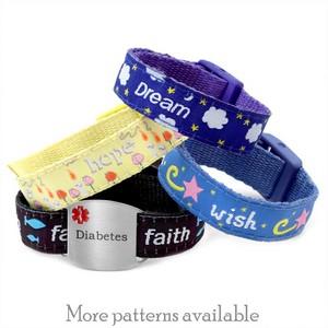 Diabetic Bracelets Variety Pack 4 - 8 Inch