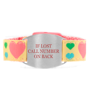Lotta Heart Safety ID Bracelet