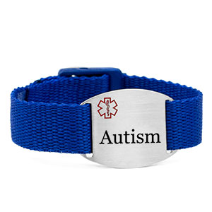 Adjustable Blue Autism Bracelet