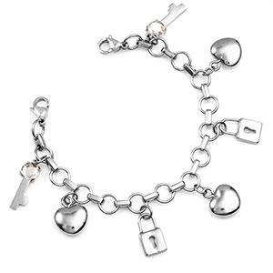 You are the Key Charm Bracelets