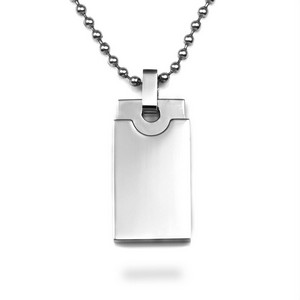 Personalized Stainless Steel Pendant