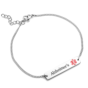 Adjustable Alzheimer's Bracelet form Women