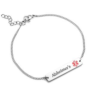 Adjustable Alzheimer's Bracelet form Women