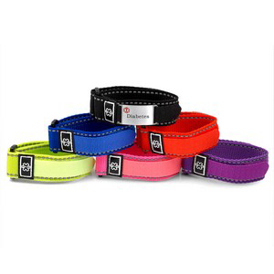 Adult Sports Pack Multi Color Diabetic Bracelets