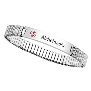 Alzheimer's Medical Stretch Bracelet for Women