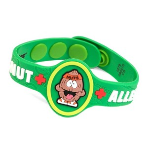 Nutso Nut Allergy Childrens Bracelet