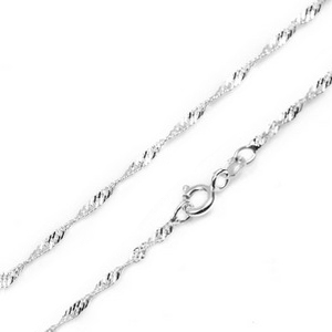 1.5mm Sterling Silver Singapore Chains