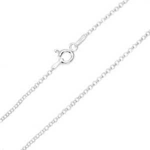 1.2mm Sterling Silver Rolo Neck Chains