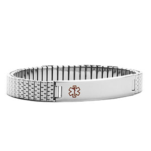 Stainless Steel Stretchy Medical Alert Bracelets