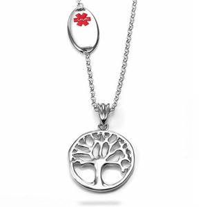 Lasting Tree Medical ID Necklace