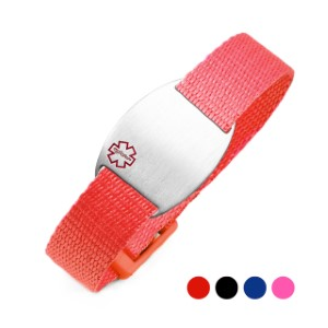 Colorful Sport Band Medical ID Bracelets