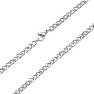 4mm Curb Link Stainless Steel Chains