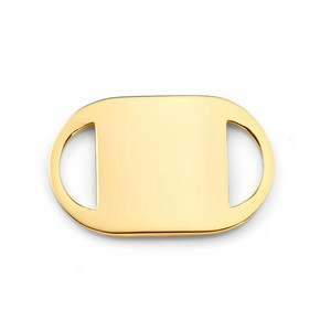 Gold Medical Tag for ID Bracelets