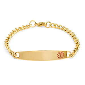 Laren Gold Medical Bracelet for Her