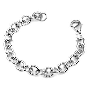6.5 Inch Stainless Steel Bracelet for Charms