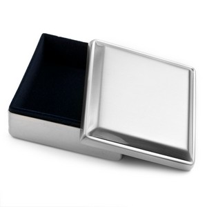 Silver Personalized Gift Box for Jewelry
