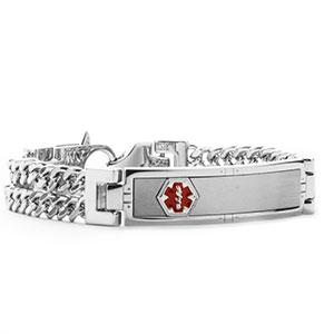 Cason Multi Chain Medical Alert Bracelet