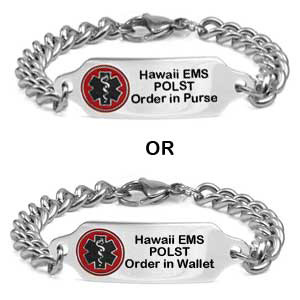 Hawaii POLST Bracelet