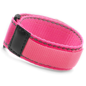 Neon Pink Sports Strap Bracelet