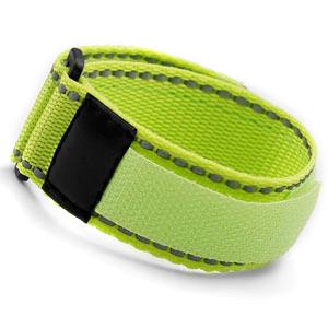 Neon Yellow Sports Strap Bracelet