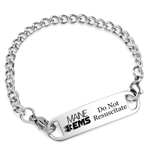 Maine Do Not Resuscitate DNR Bracelet