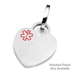 MD Heart Medical ID Tags for Bags, Pets, & More