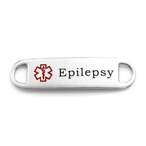 Medical Alert Tag for Epilepsy Bracelets