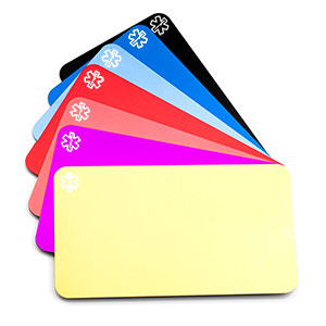 Engravable Aluminum Medical ID Wallet Card (Personalize for $7.95)