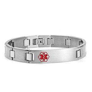 Men's Medical Alert Bracelet