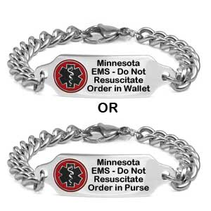 Minnesota DNR Order in Purse or Wallet Bracelet