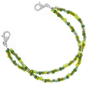 Emerald Isle Beaded Medical Alert Bracelets for ID Tags