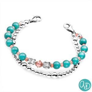 Enchanted by Ashley Daniel - Bead Bracelet 6 In (No Tag)