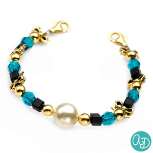 Moonlit by Ashley Daniel - Beaded Medical Alert Bracelets