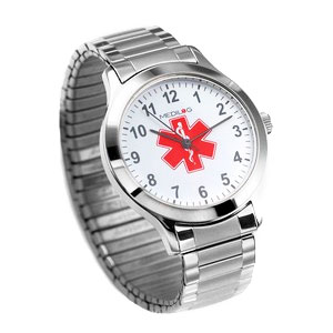 Stainless Steel Mens Medilog Watch