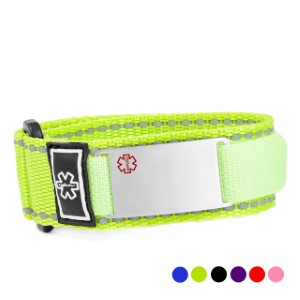 Sport Strap Medical Alert Bracelets for Kids & Adults