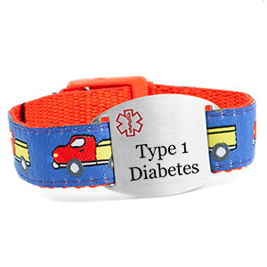 Trucks Type 1 Diabetes Bracelet