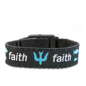 Large Faith Strap for Slide On ID Tags