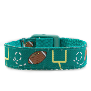 Football Strap for Slide On ID Tags LG Fits 4 - 8 Inch